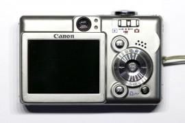 Canon PowerShot SD400: Back