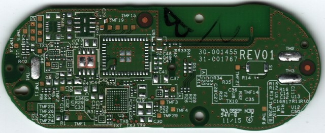 Front of PCB (without Components)
