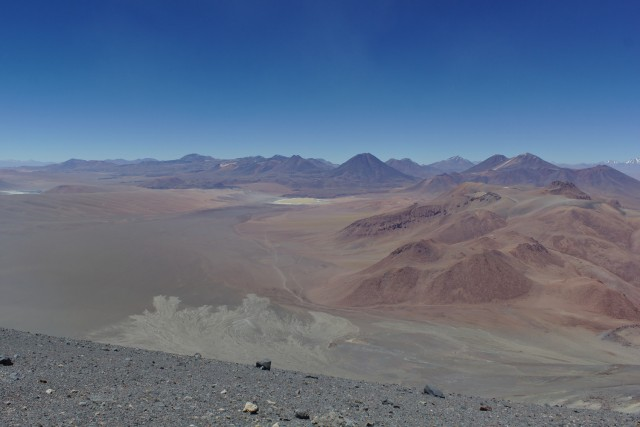 View from Lascar Summit