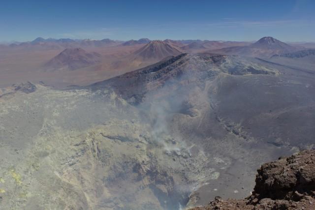 Lascar Crater