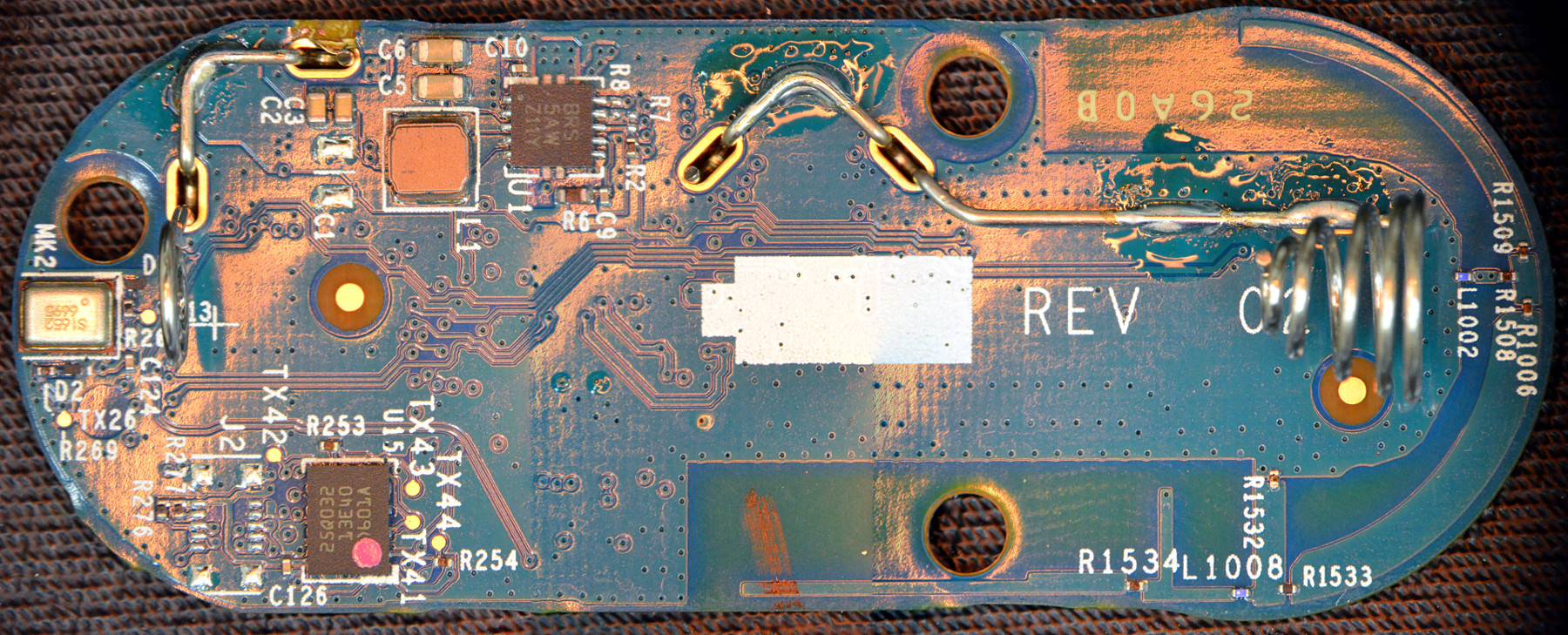 New Amazon Dash Button Teardown Jk29lp Matthew Petroff Posts With Printed Circuit Boards Label Back Of Pcb