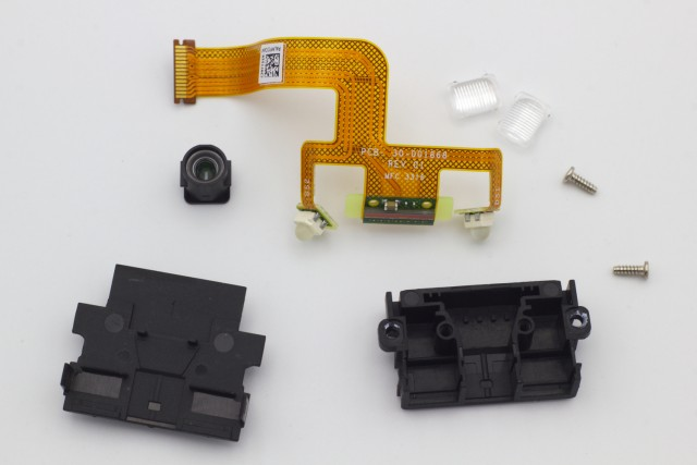 Disassembled Barcode Scanner