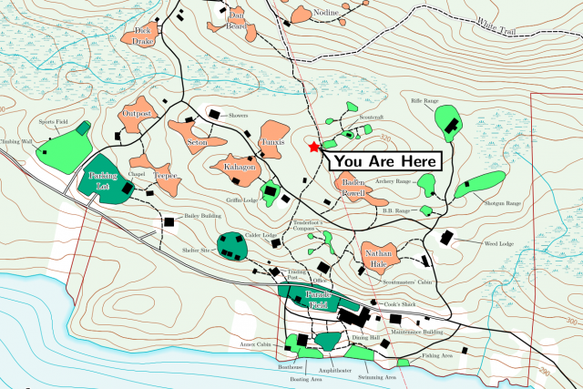 Trail Center Map