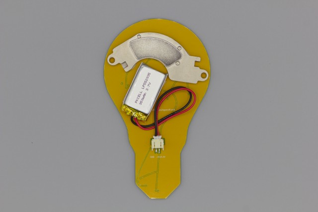 Light Bulb PCB: Back
