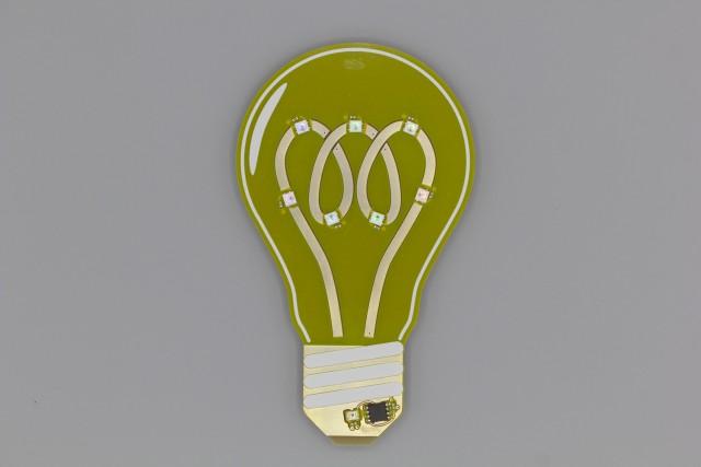 Light Bulb PCB: Front