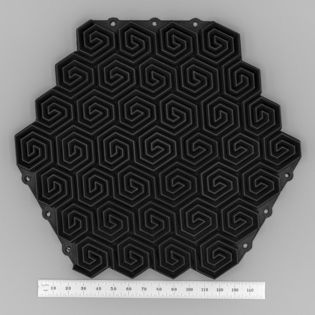 37a-1 Gosper Curve Absorber