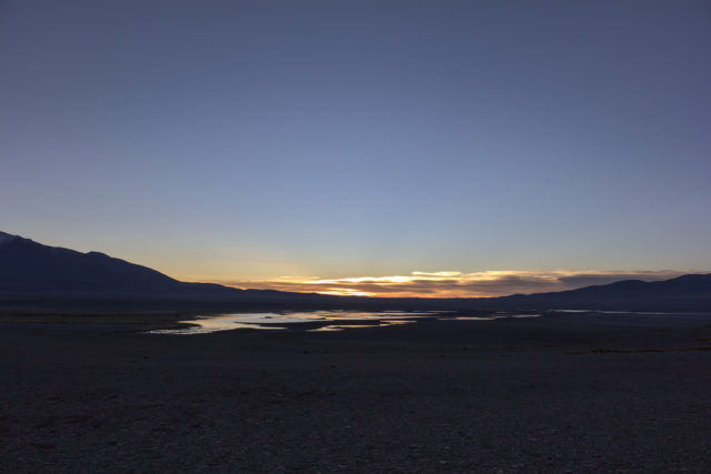 Sunrise over Laguna Helada
