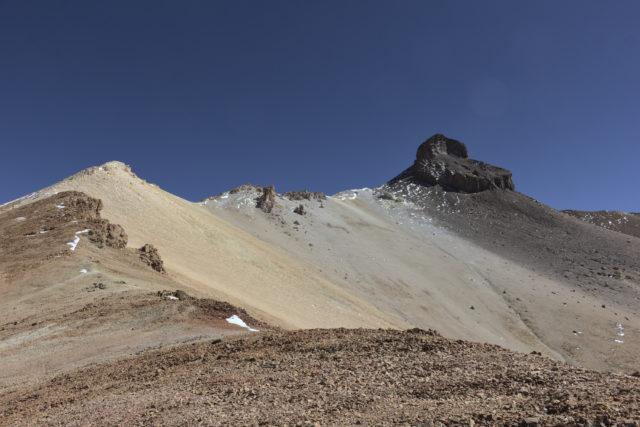 Cerro Zapaleri summit from distance