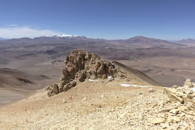 Rock formation on Cerro Zapaleri