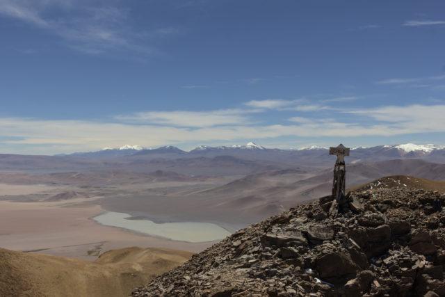 View from summit of Cerro Zapaleri