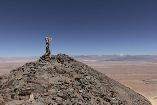 Cerro Zapaleri summit